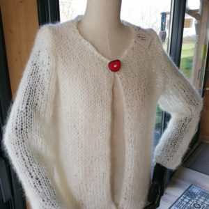 Gilet grosse maille «Cocoon»