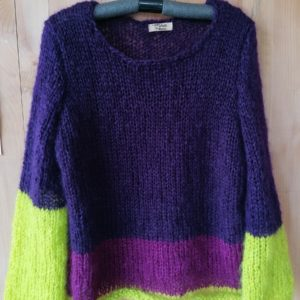 Pull grosse maille «Cocoon»