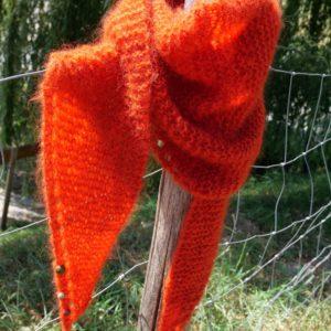 Kit tricot écharpe triangle Cocoon
